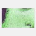 Venus in green stickers
