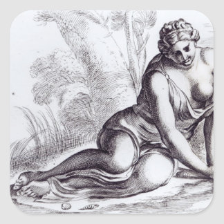 Venus in the Borghese Gardens, c.1653 Stickers