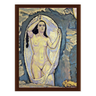Venus In The Grotto By Moser Koloman (Best Quality Post Card