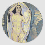 Venus In The Grotto By Moser Koloman (Best Quality Sticker