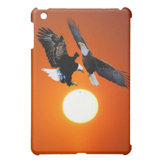 Venus in transit with two eagles iPad mini covers