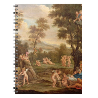 Venus in Vulcan's Forge, 18th century Notebook