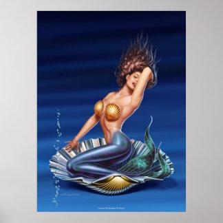 """Venus Is Back"" Canvas Art Poster"