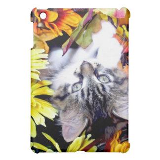 Venus, Kitty Cat Kitten, Fall Sunflowers & Flowers Cover For The iPad Mini