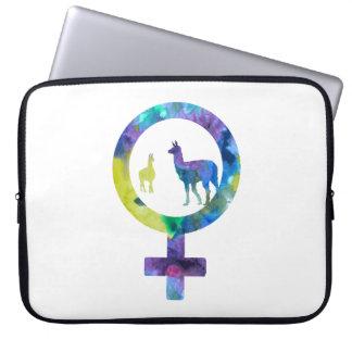 Venus Llamas Laptop Sleeve