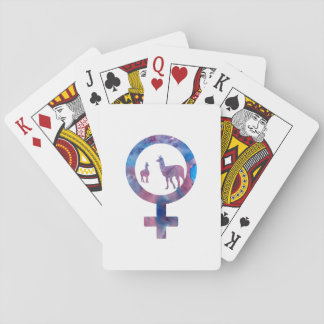 Venus Llamas Playing Cards