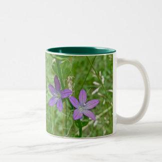 Venus Looking Glass Wildflower Two-Tone Coffee Mug