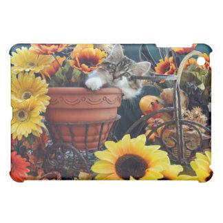 Venus, Lounging Kitty Cat Kitten, Garden Planter iPad Mini Cases