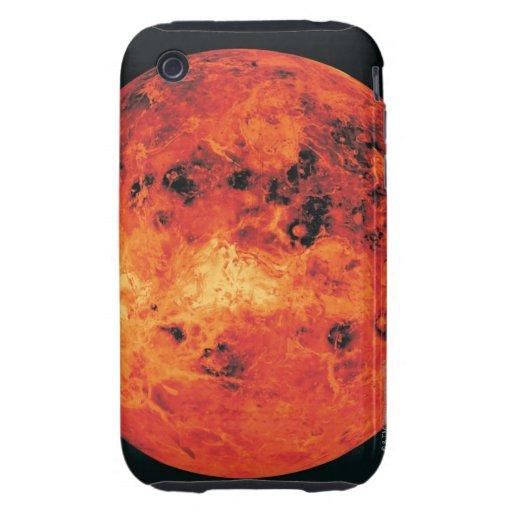 Venus, mapa del radar funda resistente para iPhone 3