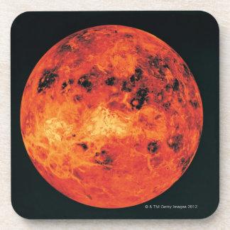 Venus, mapa del radar posavasos