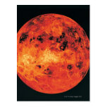 Venus, mapa del radar postales