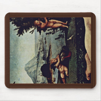 Venus, Mars And Cupid Detail By Piero Di Cosimo (B Mouse Pad