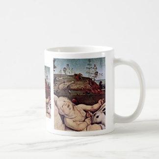 Venus, Mars And Cupid Detail By Piero Di Cosimo (B Coffee Mug