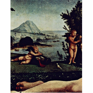 Venus, Mars And Cupid Detail By Piero Di Cosimo (B Acrylic Cut Outs