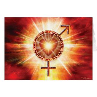 Venus & Mars Unite Card