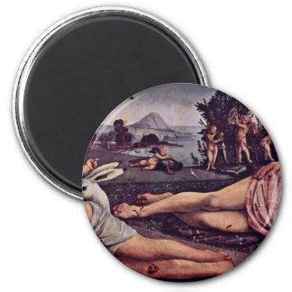 Venus, Marte y Cupid, italiano: Venere E Marte Amo Imanes Para Frigoríficos
