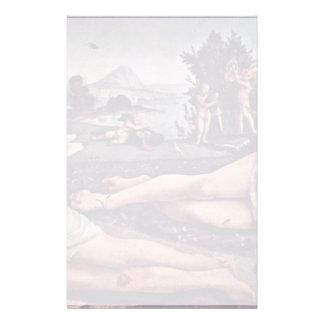 Venus, Marte y Cupid, italiano: Venere E Marte Amo Papeleria Personalizada
