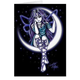 """Venus Moon"" Greeting Card"