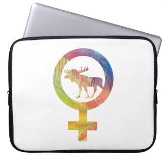 Venus Moose Laptop Sleeve