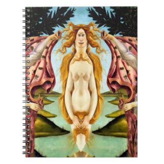 Venus of Mars Spiral Notebook