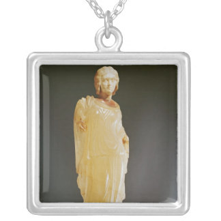 Venus of Tayrac, portrait of Manlia Scantilla Silver Plated Necklace