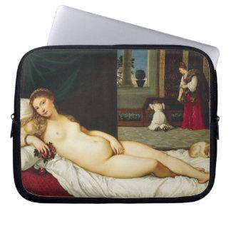 Venus of Urbino by Titian Computer Sleeve