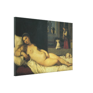 Venus of Urbino by Titian, Renaissance Art Canvas Print