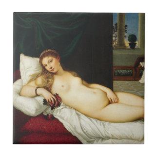 Venus of Urbino by Titian Tiles