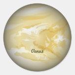 Venus--pegatina de Venus del planeta
