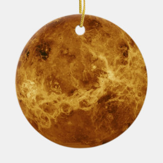 Venus Planet Photo Ceramic Ornament