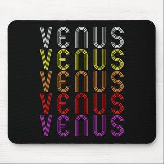 Venus Planet Retro Vintage Astronomy T-Shirt Mouse Pads