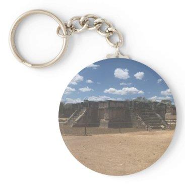 everydaylifesf Venus Platform – Chichen Itza, Mexico Keychain