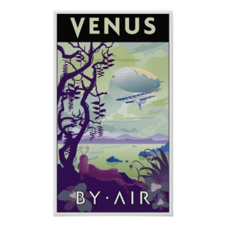 Venus por el aire posters