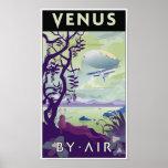 Venus por el aire póster