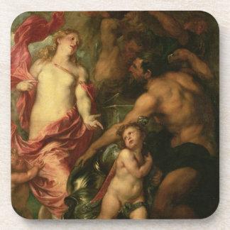 Venus que pide Vulcan la armadura de Aeneas (aceit Posavaso