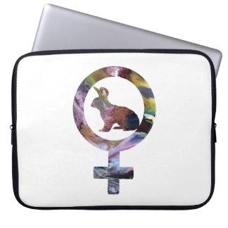 Venus Rabbit Computer Sleeve