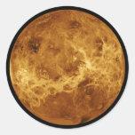 Venus Round Stickers