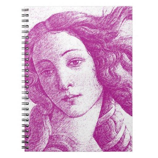 Venus * Sandro Botticelli Note Books