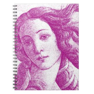 Venus Sandro Botticelli Note Books