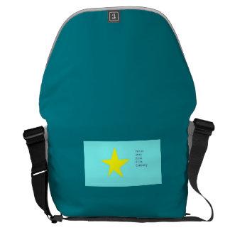 venus star fine film company messenger bag