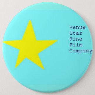 venus star fine film company pinback button
