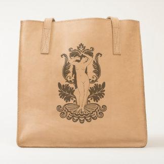 Venus Tattoo Leather Handbag