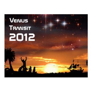 Venus Transit 2012 Postcard
