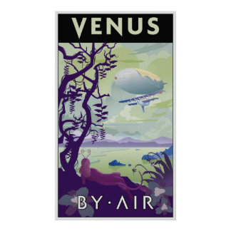 Venus travel poster