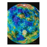 Venus Under False Color Postcards
