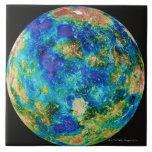 Venus Under False Color Tile
