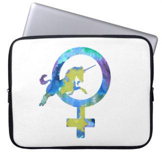 Venus Unicorn Laptop Sleeve