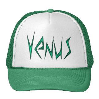 Venus-verde Gorras