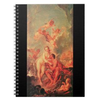 Venus Visits Vulcan 1754 Notebook