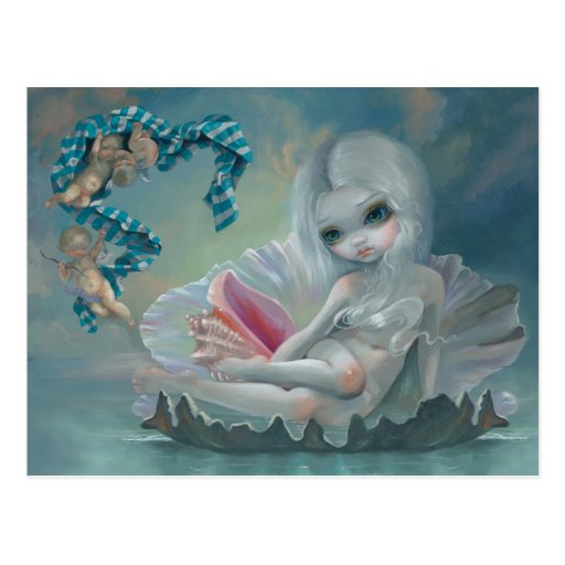 """Venus with Cherubs"" Postcard"